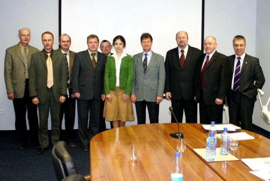 НТС с представителями фирм ГАРО и Hoffman